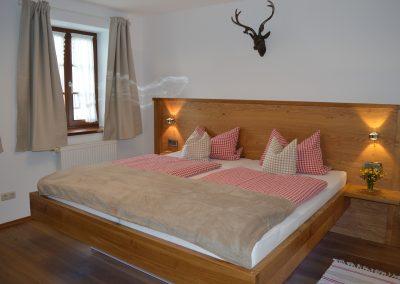Zellnerhof | FeWo Katharina | Schlafzimmer