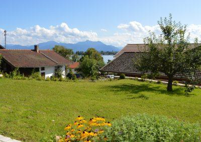 Haus Chiemseeblick | FeWo Herreninsel | Ausblick