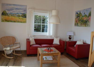 Haus Chiemseeblick | FeWo Fraueninsel | Gemütlicher Wohnraum