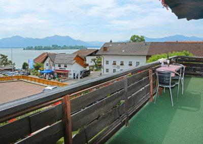 Zellnerhof | FeWo Elisabeth | Balkon mit Seeblick
