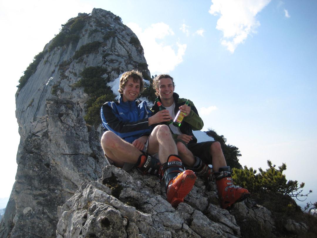 In den Chiemgauer Alpen