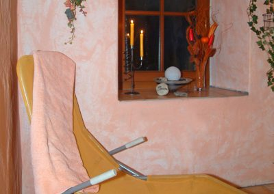 Sauna im Zellnerhof | Relaxen nach der Sauna